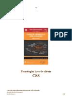 Curso UJI de desarrollo web avanzado - Tecnologias Base de Cliente - CSS