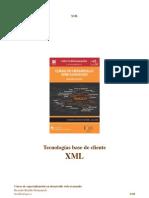 Curso UJI de desarrollo web avanzado - Tecnologias Base de Cliente - XML