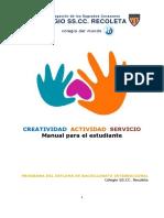 Manual Para El Estudiante CAS 2016