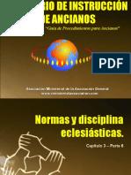 Cap9. Normas y Disciplinas Eclesiasticas