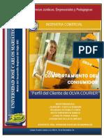Comportamiento del consumidor de OLVA COURIER