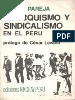 Pareja, Piedad - Anarquismo y Sindicalismo en El Perú