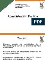 Presentación Administración Pública