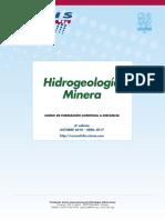 "6º Curso a distancia ""Hidrogeología Minera"""