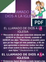 EL LLAMADO DE DIOS A LA IGLESIA.pptx