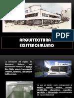 Arquitectura y Existencialismo