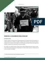Derecho a La Seguridad Social en Salud