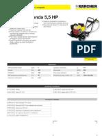 Idropulitrice a freddo Karcher HD 801 B Honda 5-5 HP