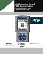 Cyberscan 600 Series