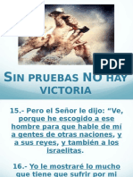 Sin Pruebas No Hay V.