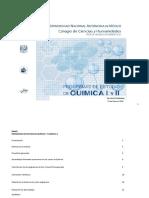 Programas Quimica I y II