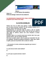 Espanol Clase 14