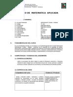 Matematica Aplicada TURISMO2015 - I