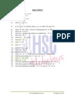 Mathematics Equations
