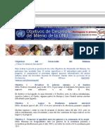 Objetivos del Desarrollo del Milenio.doc