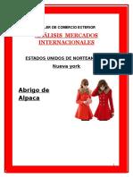 ANÁLISIS  MERCADOS INTERNACIONALES