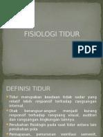 FISIOLOGI TIDUR