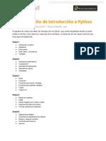 Programa Taller Gratuito Python
