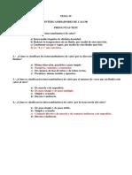 Transferencia de Calor - Cuestionario