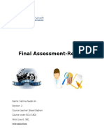 assesment three science
