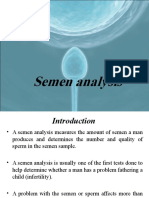 Final Seminal Fluid Analysis