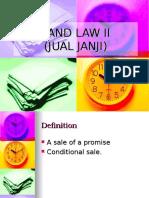 Jual Janji_Land law