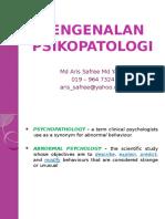 Psikopatologi (Week 1)