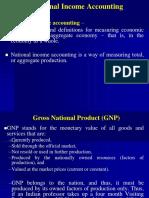 National Income Fundamentals