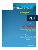 Maintenance of Roads in Pakistan IEP CPD 170312