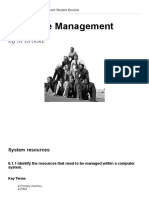 Topic 6 - Resource Management Student Booklet