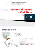 Environmental Issues in Viet Nam