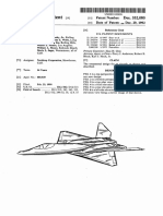 USD332080 Northrop YF-23 Design Patent