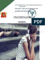 Monografia de Trastorno Del Estado de Animo Psicopatologia Corregido