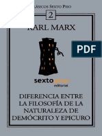 Marx - Diferencia