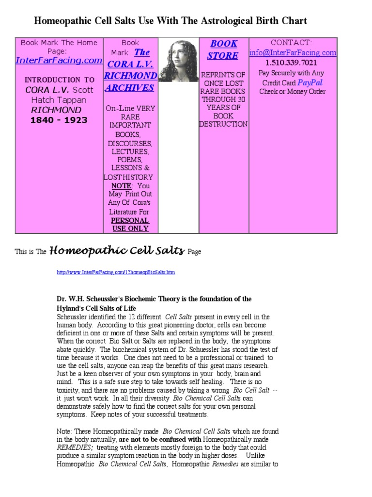 Cell salts use with the astrological birth chart planets in cell salts use with the astrological birth chart planets in astrology bone geenschuldenfo Images