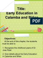 Early Education in Calamba and Binan