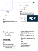 Unit 1.1 – Mechanics - Kinematics (Student)