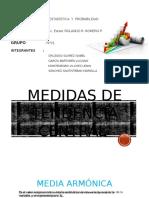 Media Armónica y Media Geométrica