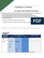 Aqa Science Igcse Chem w Cert