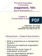 Fundamental of Management Chap 9