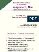 Fundamental of Management Chap 16