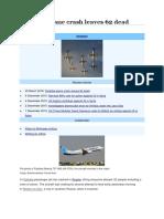 Flydubai Plane Crash Leaves 62 Dead