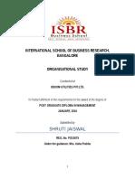 Organization Study Report