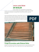Fungsi Economizer Pada Boiler