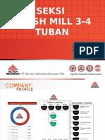 Seksi Finish Mill Tuban