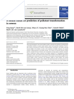 A Biofilm Model for Prediction of Pollutant Transformation in Sewers