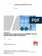 CE Efficiency Improvement for HSUPA TTI 2ms