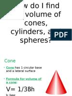 volumeofsphereconeandcylinderpowerpoint