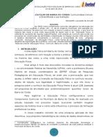EDUCAÇÃO FÍSICA ESCOLAR EM BARRA DO CORDA Currículo Base Comum e Diversificada e Sua Avaliação