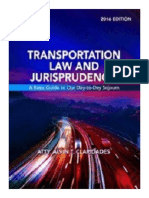 Transportation Law And Jurisprudence